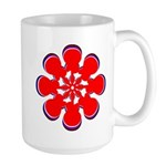Clockwork Red Large Mug