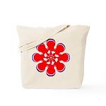 Clockwork Red Tote Bag