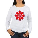 Clockwork Red Women's Long Sleeve T-Shirt