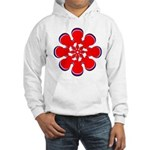 Clockwork Red Hooded Sweatshirt