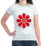 Clockwork Red Jr. Ringer T-Shirt