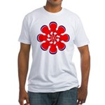 Clockwork Red Fitted T-Shirt