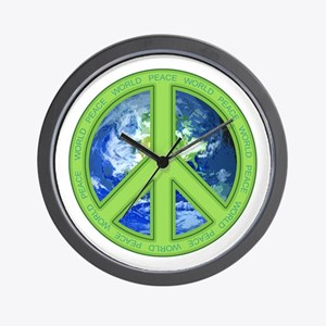 World Peace Wall Clock