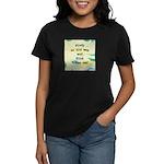 Study an Old Map Women's Dark T-Shirt
