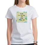 Study an Old Map Women's T-Shirt