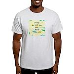 Study an Old Map Light T-Shirt