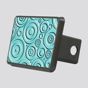 Teal Circles Hitch Cover