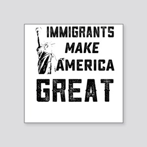 Pro Immigrant Rights Shop Sticker