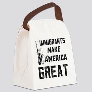 Pro Immigrant Rights Shop Canvas Lunch Bag