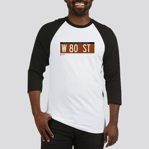 80th Street in NY Baseball Jersey