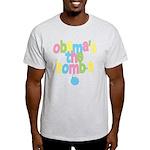 Obama's the Bomba Light T-Shirt