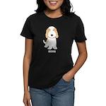 Tan & White PBGV Women's Dark T-Shirt