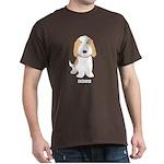 Tan & White PBGV Dark T-Shirt