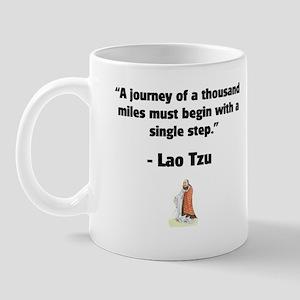 Lao Tzu 1,000 Mile Journey Mug