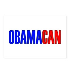OBAMACAN Postcards (Package of 8)
