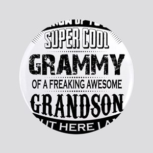 Super Cool Grammy Of A Freaking Awesome Grandson 3