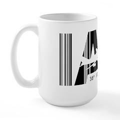 Washington Dulles IAD Air Wear Large Mug