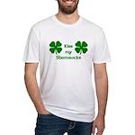 Kiss my Shamrocks Fitted T-Shirt