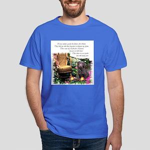 Chocolate Lab Art Dark T-Shirt