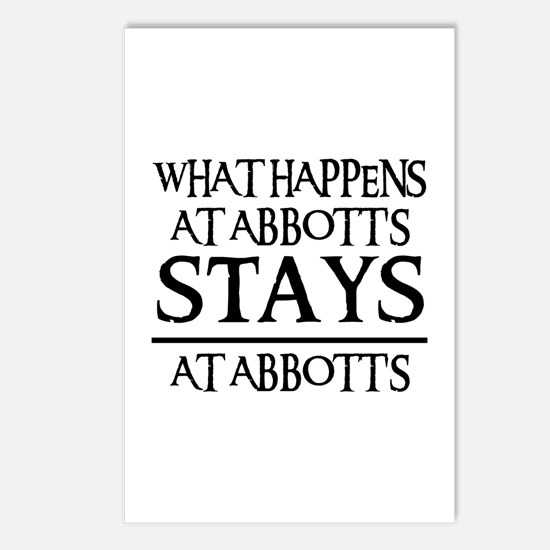 STAYS AT ABBOTT'S Postcards (Package of 8)