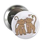 Cute Monkey Couple 2.25