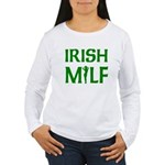 Irish MILF Women's Long Sleeve T-Shirt