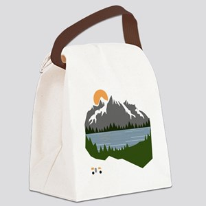 camping Canvas Lunch Bag