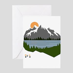 camping Greeting Cards