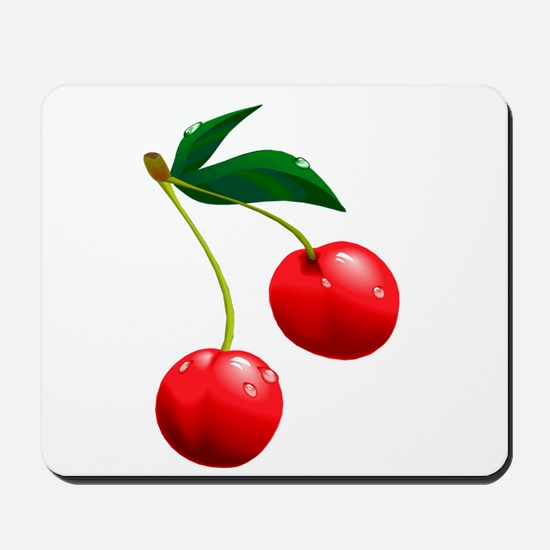 TWO CHERRIES Mousepad