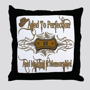 Memorable 95th Throw Pillow