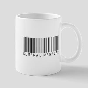 General Manager Barcode Mug
