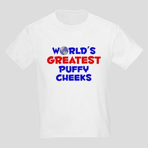 World's Greatest Puffy.. (A) Kids Light T-Shirt