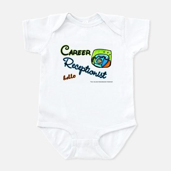Career Receptionist Infant Creeper