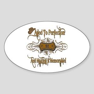 Memorable 92nd Oval Sticker