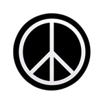"""Peace 3.5"""" Button (100 pack)"""