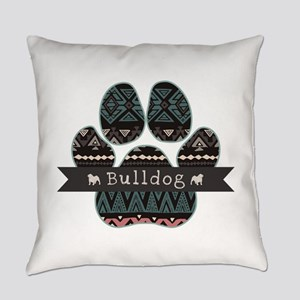 Bulldog Everyday Pillow