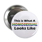 """Homosexual 2.25"""" Button (100 pack)"""