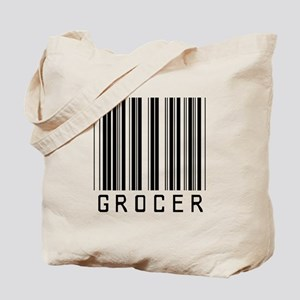 Grocer Barcode Tote Bag