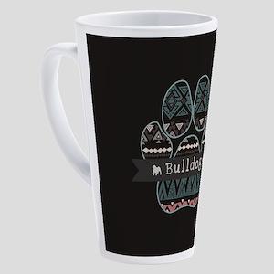 Bulldog 17 oz Latte Mug