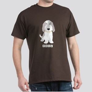 Grey & White PBGV Dark T-Shirt