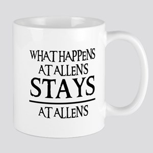 STAYS AT ALLEN'S Mug