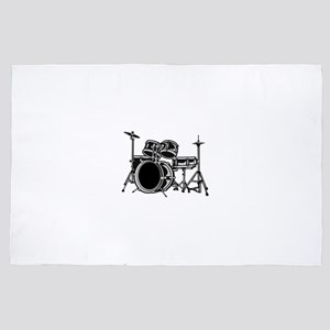 drumset 4' x 6' Rug