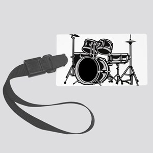 drumset Large Luggage Tag