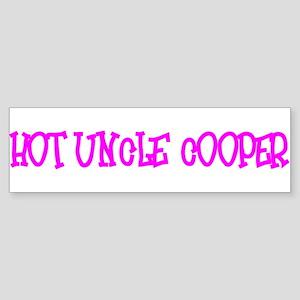 """""""Hot Uncle Cooper"""" Bumper Sticker"""