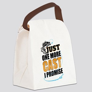 Just One More Cast I Promise Canvas Lunch Bag