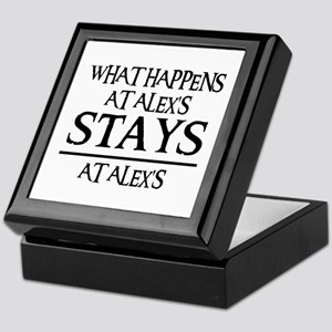 STAYS AT ALEX'S Keepsake Box