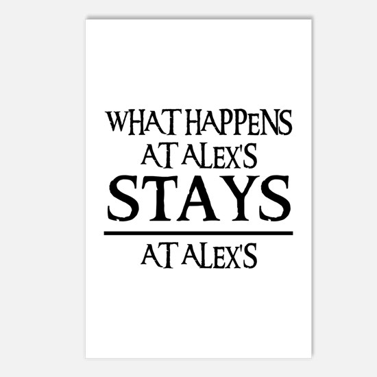 STAYS AT ALEX'S Postcards (Package of 8)