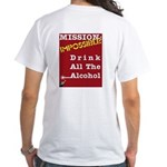Mission Impossible - White T-Shirt