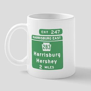 Harrisburg Hershey Chocolate  Mug