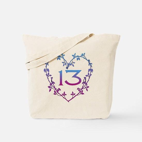 Thirteenth Birthday Tote Bag